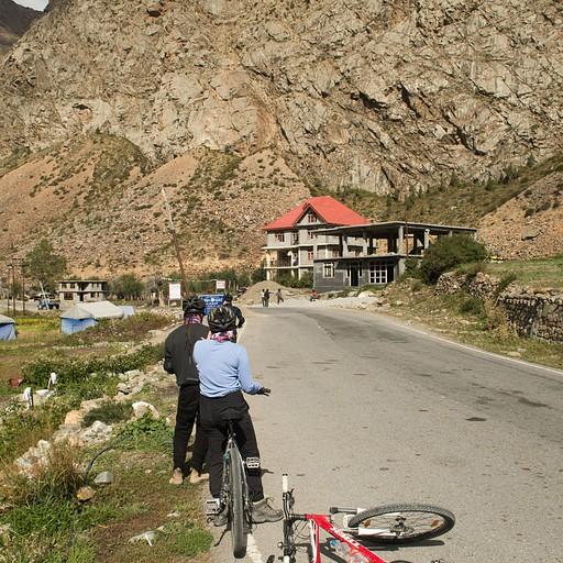 אחד הכפרים בדרך אחרי העליה