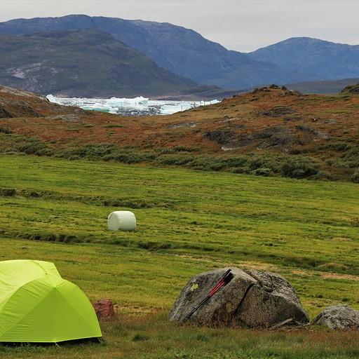 קמפינג בחוות Tasiusaq