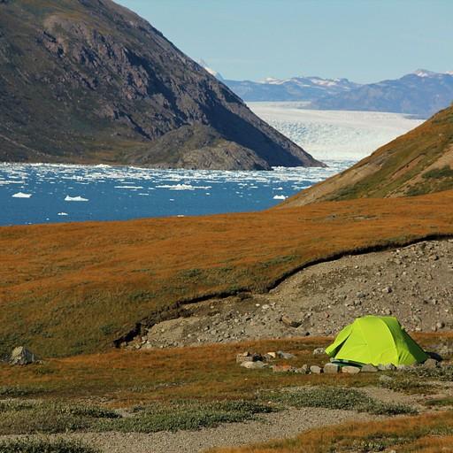Blue Ice camp