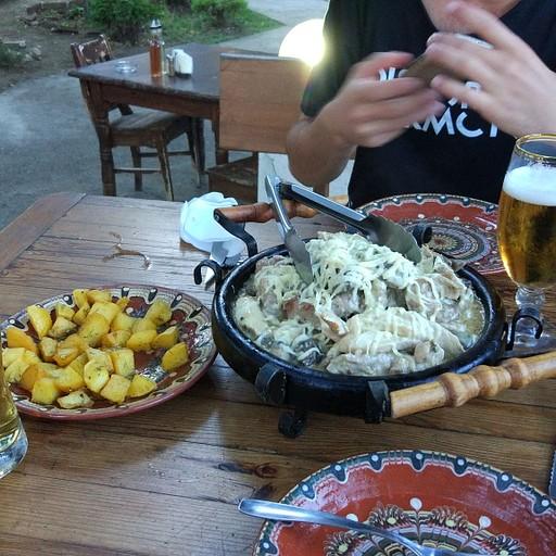 האוכל במסעדה בה אכלנו , זול וטעים!