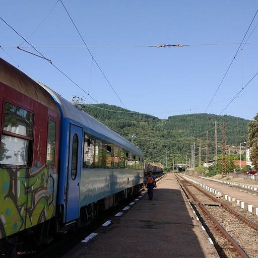 הרכבת בה נסענו