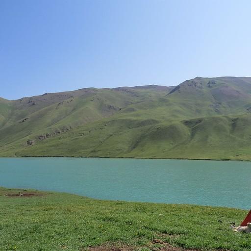 לינה באגם קול אוקוק