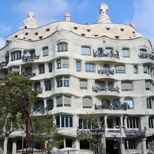 ברצלונה - בניין Casa Mila