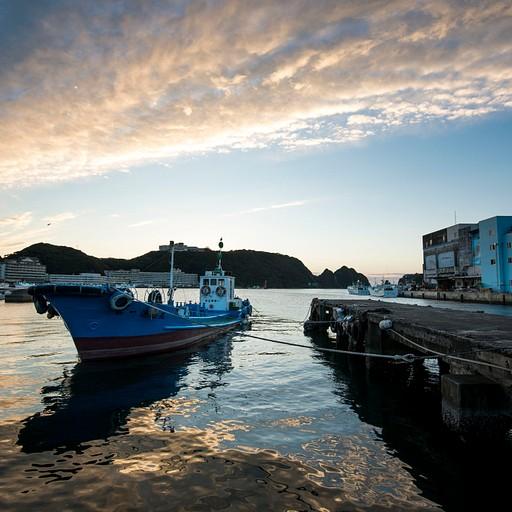 זריחה במפרץ של Katsura