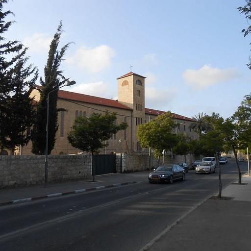 דרך בית לחם - מנזר האחיות הבורומאיות