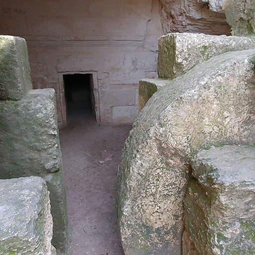 אבן הגולל בחורבת מדרס