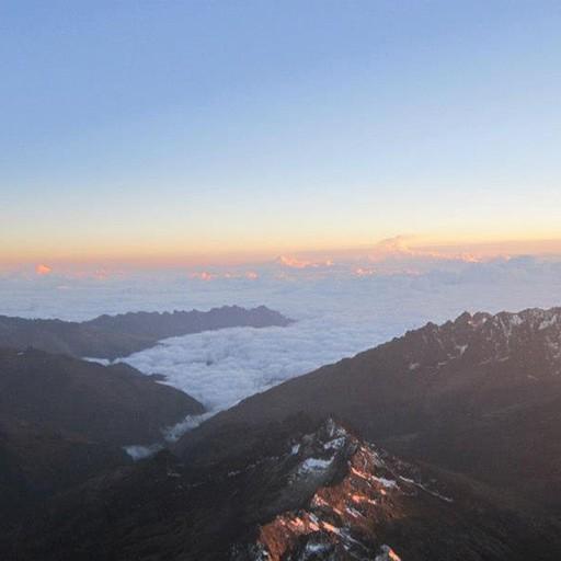 הנוף מהפסגה