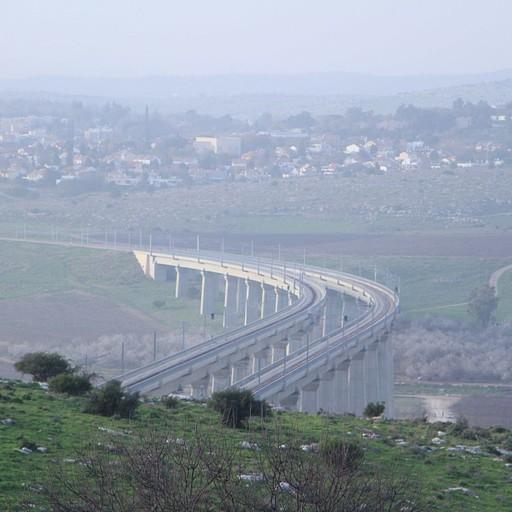 גשר הרכבת המהירה לירושלים