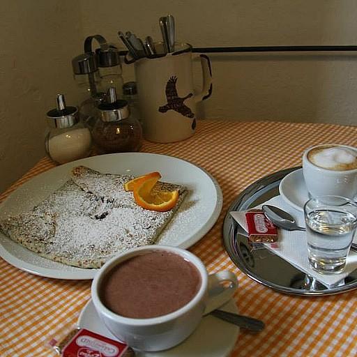 הקפה והקרפ בצ'צ'קי בבוקר