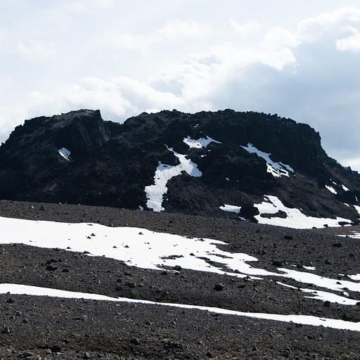 מבט בפיסגה על האיזור הגעשי