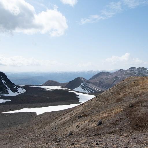 הפסגה משקיפה על הר הגעש