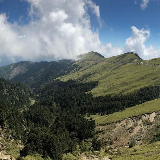 הנוף מנקודת התצפית ב- Wuling