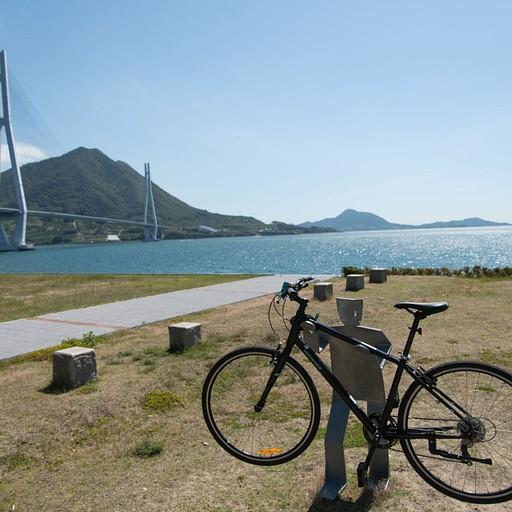 פסלים להנחת אופניים שיש כמוהם הרבה באיזור