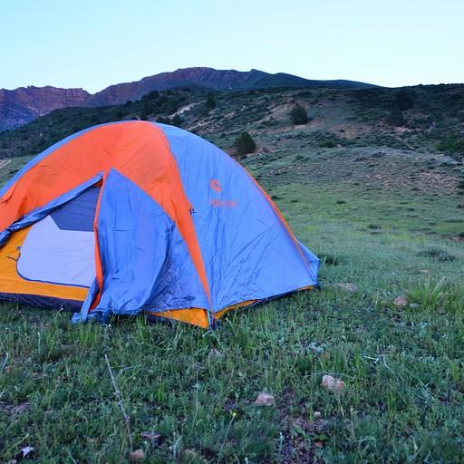 המיקום הלא מוצלח של האוהל