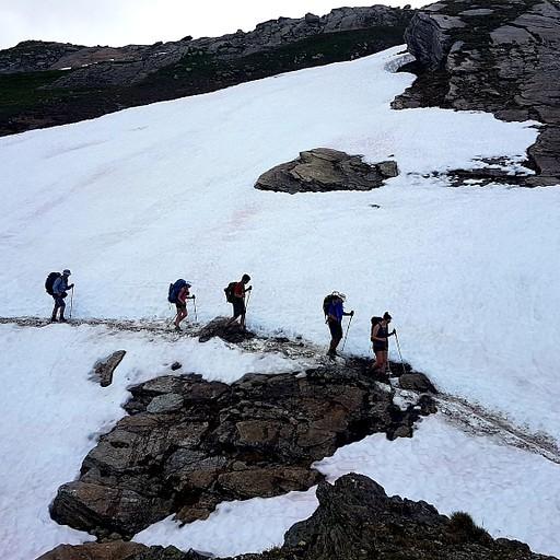 בדרך לבונהום בשלג 1