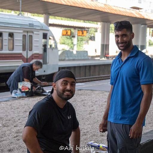 תחנת הרכבת בטביליסי