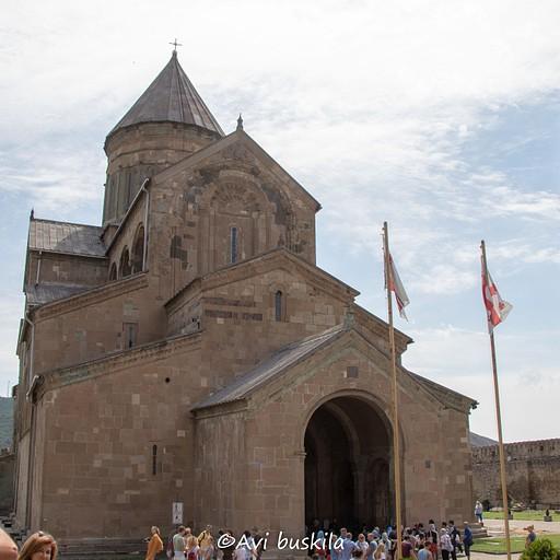 בעיר הבירה הקודמת של טביליסי