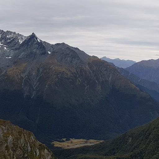 Cascade Saddle- אחד הנופים המרשימים של הטיול