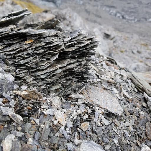 סלעי צפחה בדרך