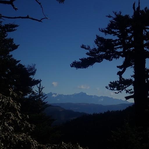 נופים מהליכת קו הרכס