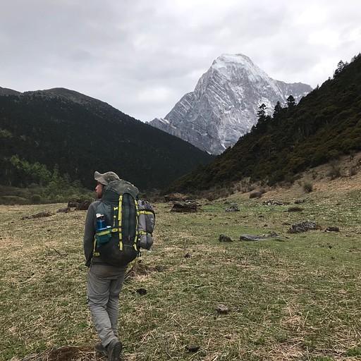 הליכה בעמק לכיוון הפאס השני