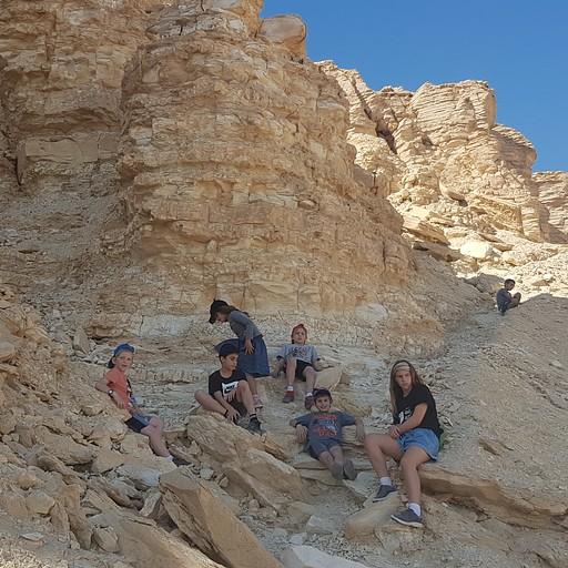 הר צין - תחילת הטיפוס