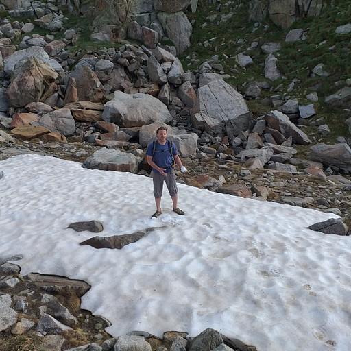 שאריות שלג בפורט רטרה