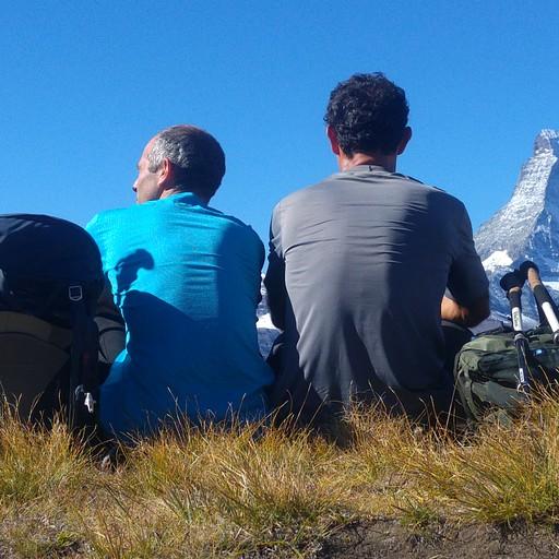 Ober Satlla היא נקודת התצפית הטובה ביותר לקראת סיום הטראק.