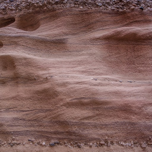 שיכוב אבן חול בקניון התחתון