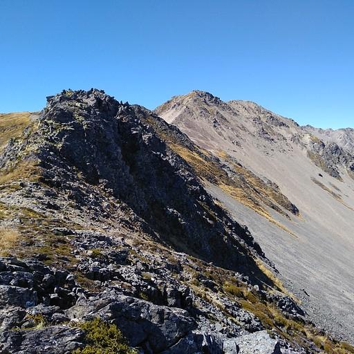 הרכס היפה בדרך להר סדריק