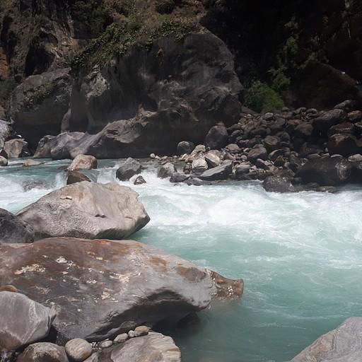 נהר הmarsyangdi