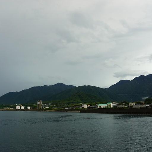 האי יאקושימה מהספינה