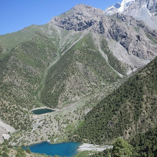 האגם מלמעלה