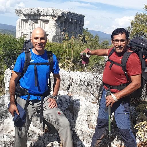 אתר עתיקות phellos בדרך לPinarbasi