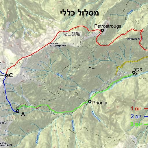 מפת המסלול שלנו