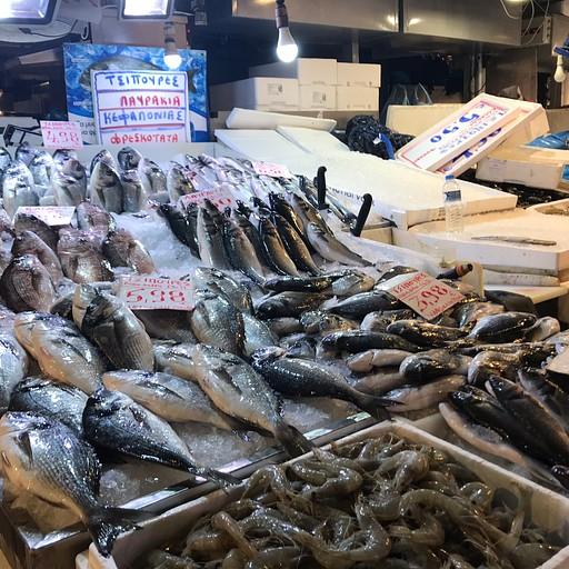 שוק הדגים של אתונה