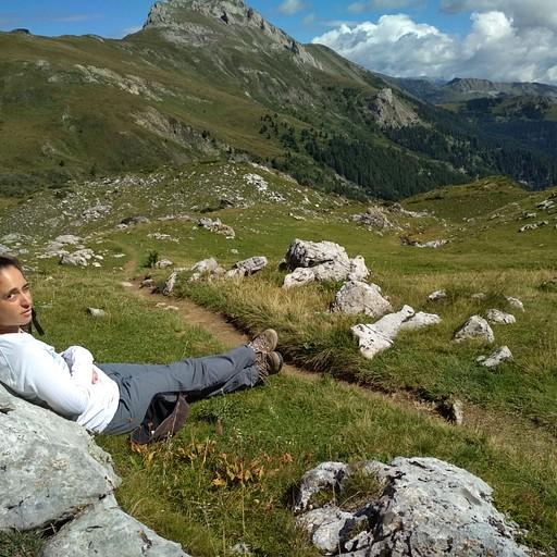 הנוף על גבול אלבניה-קוסובו