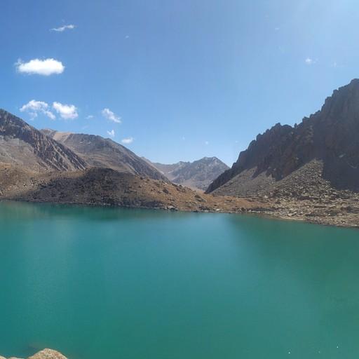 אגם damjailoo (פנורמה, לחצו כדי להגדיל)