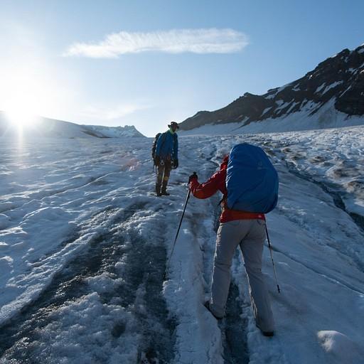 העלייה עת הקרחון בתחילת היום