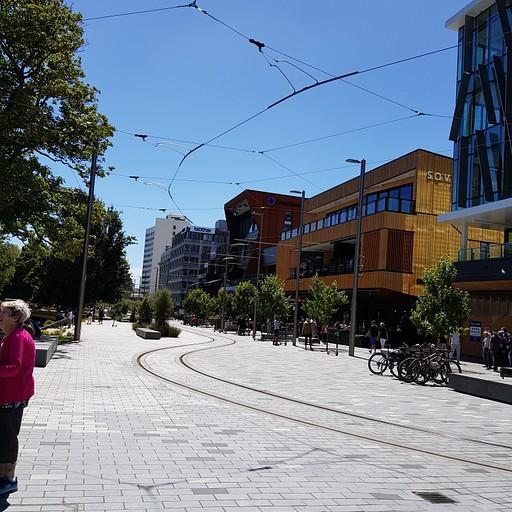 רחוב טיפוסי בעיר