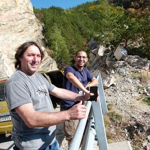 עם רייקו במעלה ההר