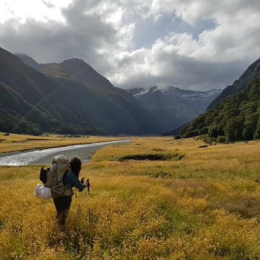 """נוף אחר""""צ לsiberia valley. ובאופק- הגשם מתקרב"""