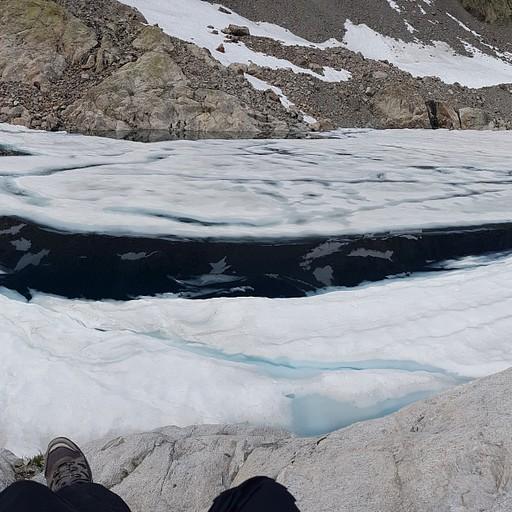 האגם המושלם ב-TMB (מסלול צד)