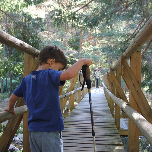 הגשר הראשון במסלול