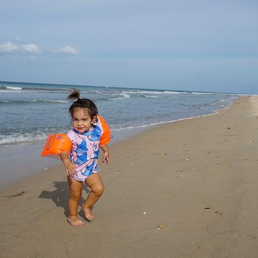 רצועת חוף מדהימה ושקטה