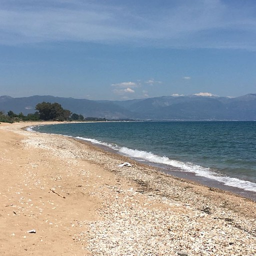 החוף בו עצרנו