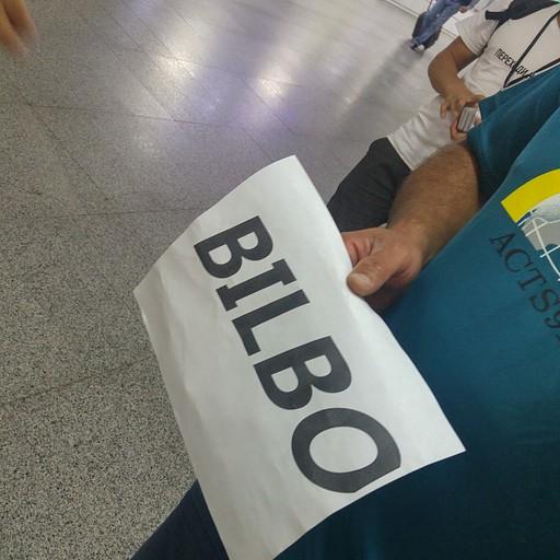 שם הקוד שלנו בשדה התעופה היה Bilbo