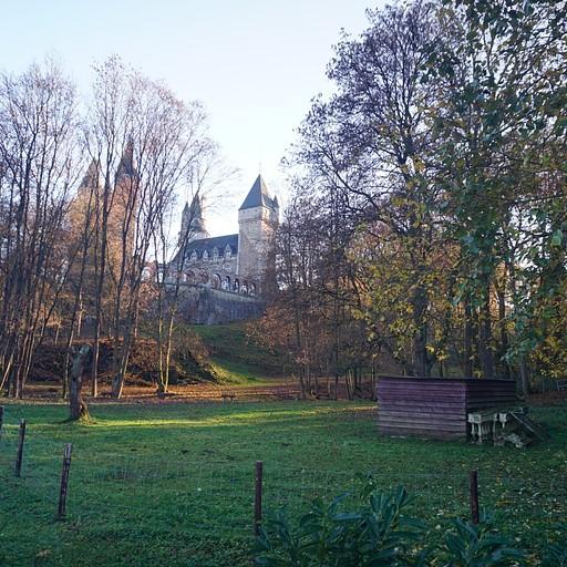 Le Château de Faulx-les-Tombes