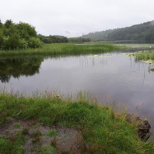 האגם הראשון בטרק