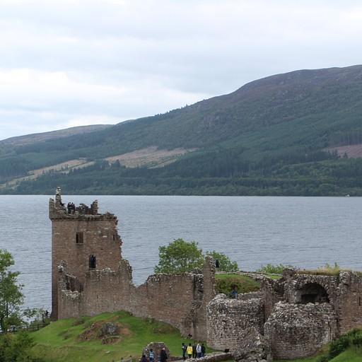 לוך נס ומבצר Urquhart